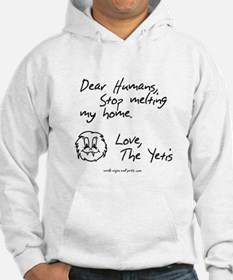 A message from the Yetis Hoodie