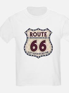 Retro Vintage Rte 66 T-Shirt