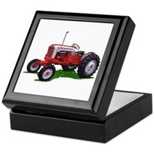 Vintage farm Keepsake Box