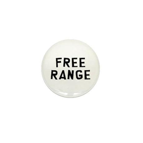 Free Range Mini Button