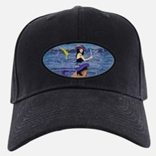Pirate Wench Walks The Plank Baseball Hat