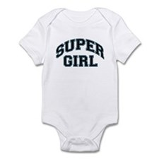 Super Girl Infant Creeper