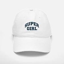 Super Girl Baseball Baseball Cap