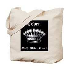 Goth QueenTote + Back Image
