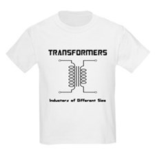 Transfomers Inductors of Different Size T-Shirt