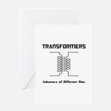 Transfomers Inductors of Different Size Greeting C