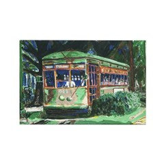 New Orleans Streetcar Rectangle Magnet (10 pack)