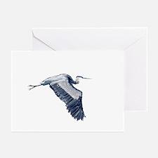 heron design Greeting Cards (Pk of 10)