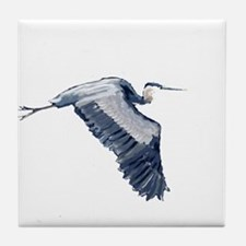 heron design Tile Coaster