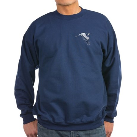 heron design Sweatshirt (dark)