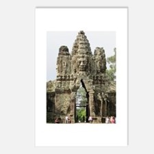 china ruins Postcards (Package of 8)