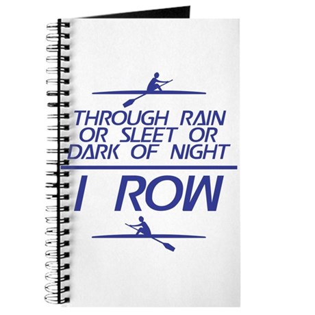 Through Rain... I Row Journal