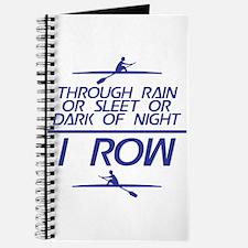Through Rain... I Row Journal