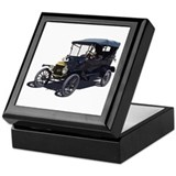 Ford model t Square Keepsake Boxes