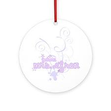 Unique Zac efron Ornament (Round)