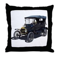 Cool Model a ford Throw Pillow