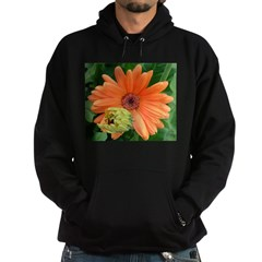 Orange Flower Hoodie