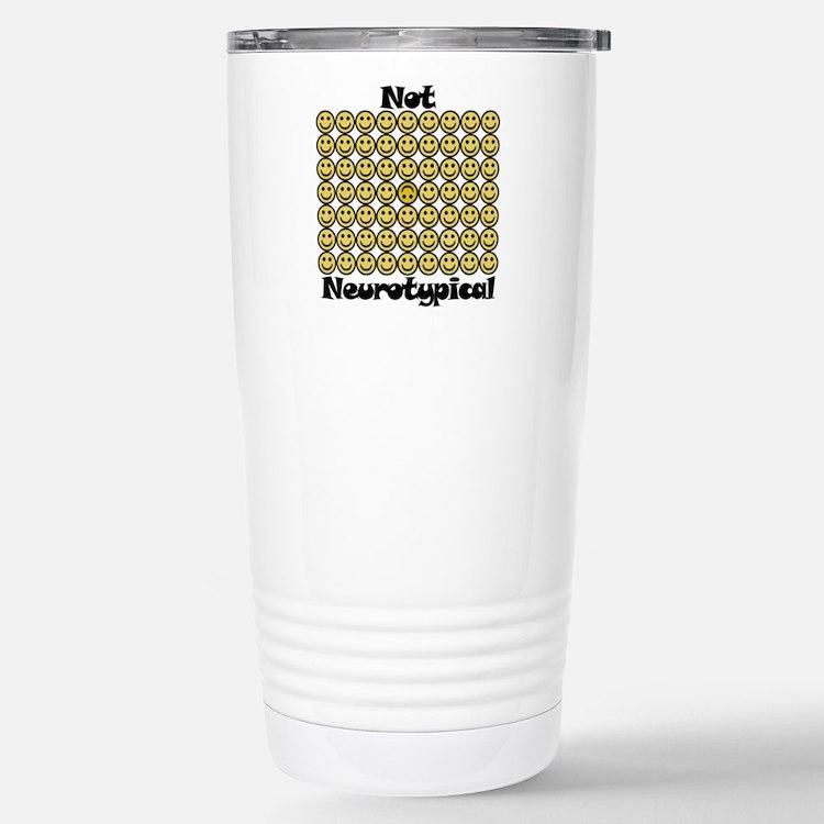 Cute Aspie humor Travel Mug