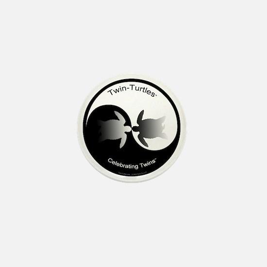 Twin Yin Yang Mini Button
