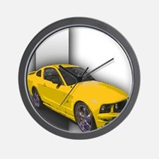 MustangGT-RWB Wall Clock