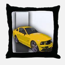 MustangGT-RWB Throw Pillow