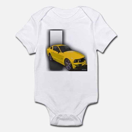 MustangGT-RWB Infant Bodysuit