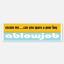 Spare a BJ Bumper Bumper Bumper Sticker