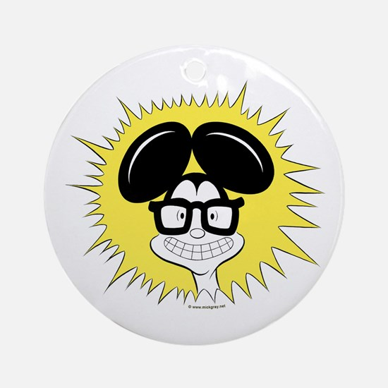 Al B. Mouse Got Cheese Ornament (Round)