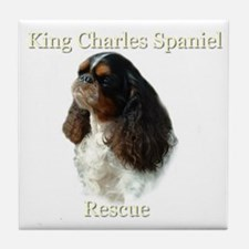 King Charles rescue  Tile Coaster