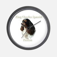King Charles rescue  Wall Clock