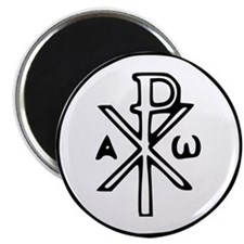 "Chi Rho 2.25"" Magnet (10 pack)"