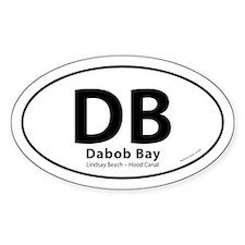 Dabob Bay Lindsay Beach Hood Canal Over Decal