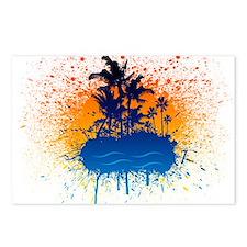 Paradise Graffiti Island Postcards (Package of 8)