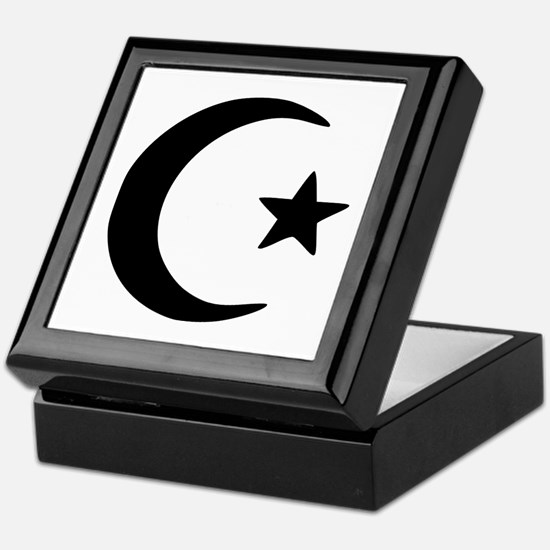 Crescent - Star Keepsake Box