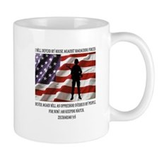 I will defend my people Mug