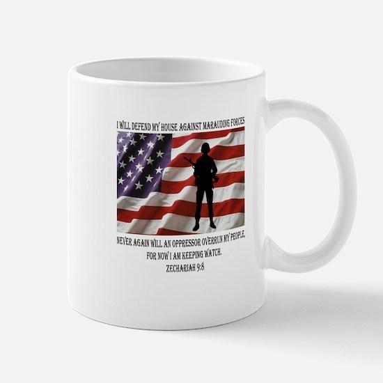 I will defend my people Mug