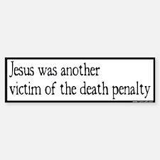 Bumper Sticker -- Jesus victim of DP