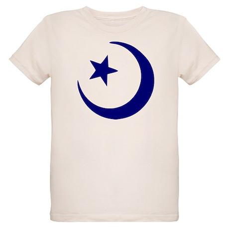 Crescent - Star Organic Kids T-Shirt