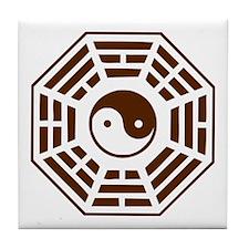 Pakua - Yin Yang Tile Coaster