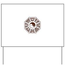 Pakua - Yin Yang Yard Sign
