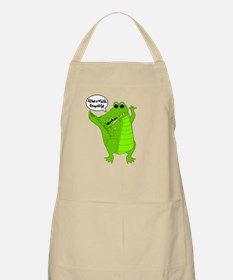 After A While, Crocodile! BBQ Apron