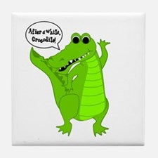 After A While, Crocodile! Tile Coaster