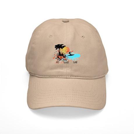Eat Sleep Surf Cap