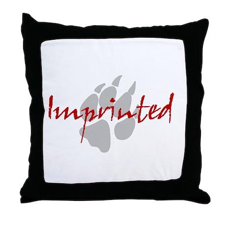 Imprinted Jacob Black Twilight Throw Pillow