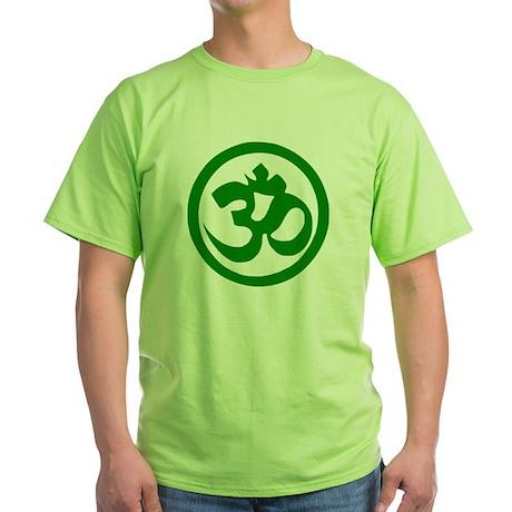 Om Green T-Shirt