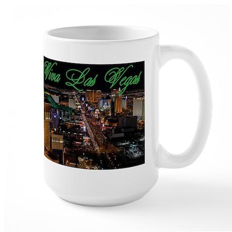 viva las vegas Large Mug