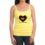 PIGS ARE FOR LOVIN (HEART) Jr. Spaghetti Tank