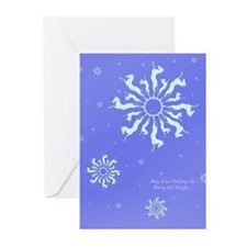 Snowflake Horse Greeting Cards (Pk of 10)