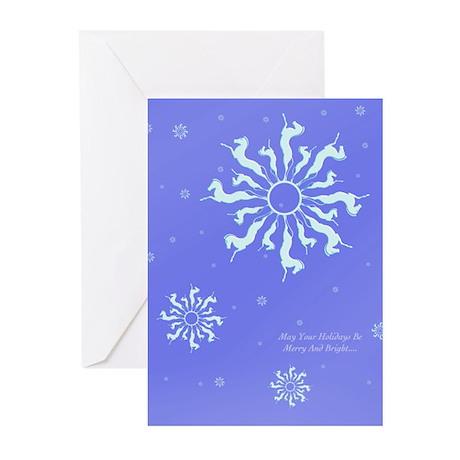 Snowflake Horse Greeting Cards (Pk of 10)