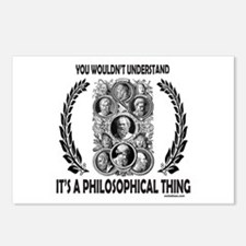 PHILOSOPHY Postcards (Package of 8)